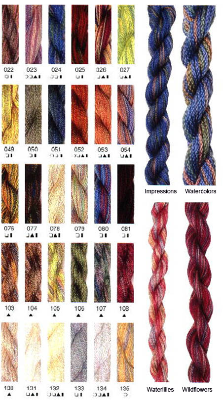 Caron Collection Color Chart