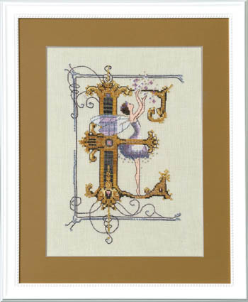 Letters From Nora - E - Cross Stitch Pattern