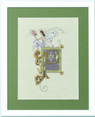 Letters From Nora - P - Cross Stitch Pattern