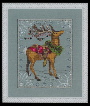 Donner - Christmas Eve Couriers - Cross Stitch Pattern