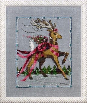Dancer - Christmas Eve Couriers - Cross Stitch Pattern
