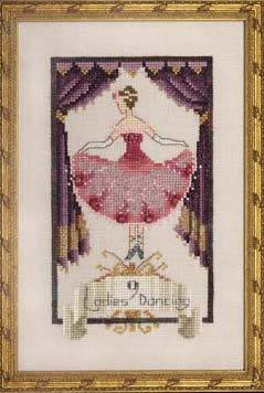 Nine Ladies Dancing - 12 Days of Christmas - Cross Stitch