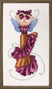 Tulip Spring Garden Pixie - Cross Stitch Pattern