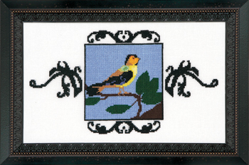 Goldfinch - Cross Stitch Pattern