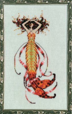 Siren's Song Mermaid - Cross Stitch Pattern
