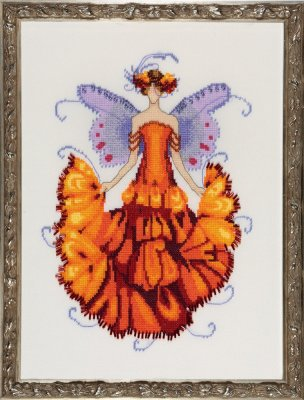 Marigold - Cross Stitch Pattern