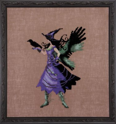 Cleo (Bewitching Pixies) - Cross Stitch Pattern