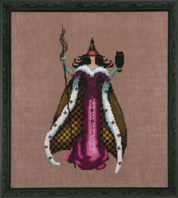 Mari (Bewitching Pixies) - Cross Stitch Pattern