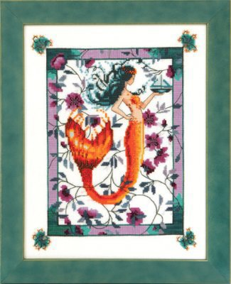 Sunrise Laguna Mermaid - Cross Stitch Pattern