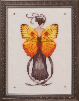Miss Solar Ellipse - Cross Stitch Pattern