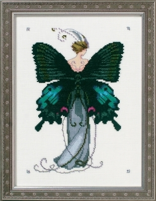 Miss Black Swallowtail - Cross Stitch Pattern